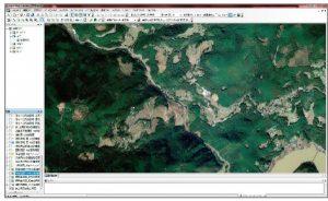 GPSを利用した山林管理